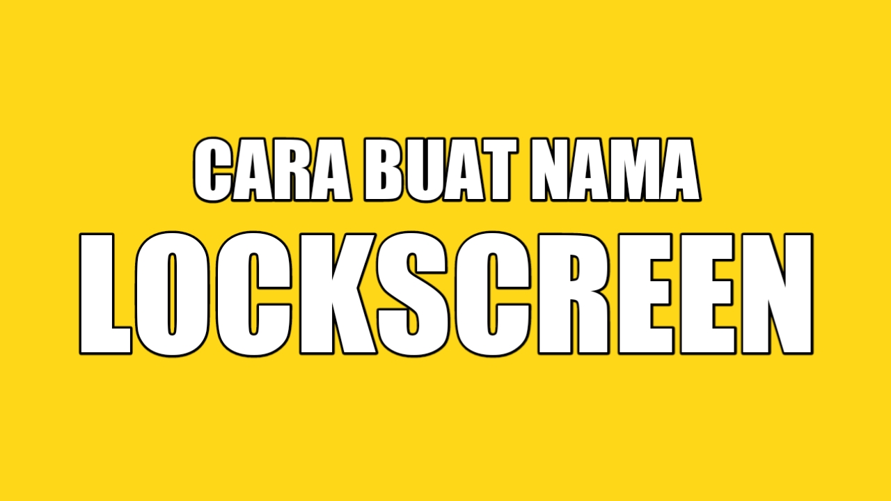 Cara Buat Nama di Lockscreen Realme dan Oppo