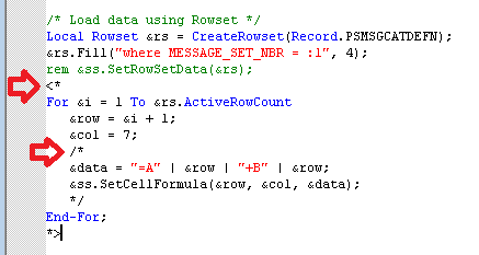 Sasank's PeopleSoft Log: PeopleCode Color Coding for Comments