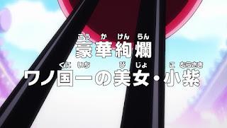 One Piece Episódio 921