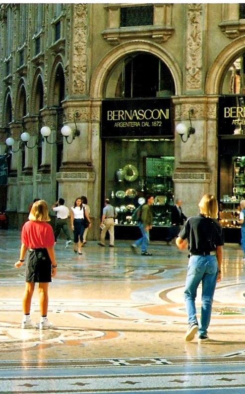 The Galleria Vittorio Emanuele II Milan Italy