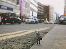 Slinkachu, Little People in the City