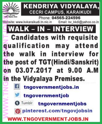 KV-School-Karaikudi-Teachers-Recruitment-walkininterview-www.tngovernmentjobs.in