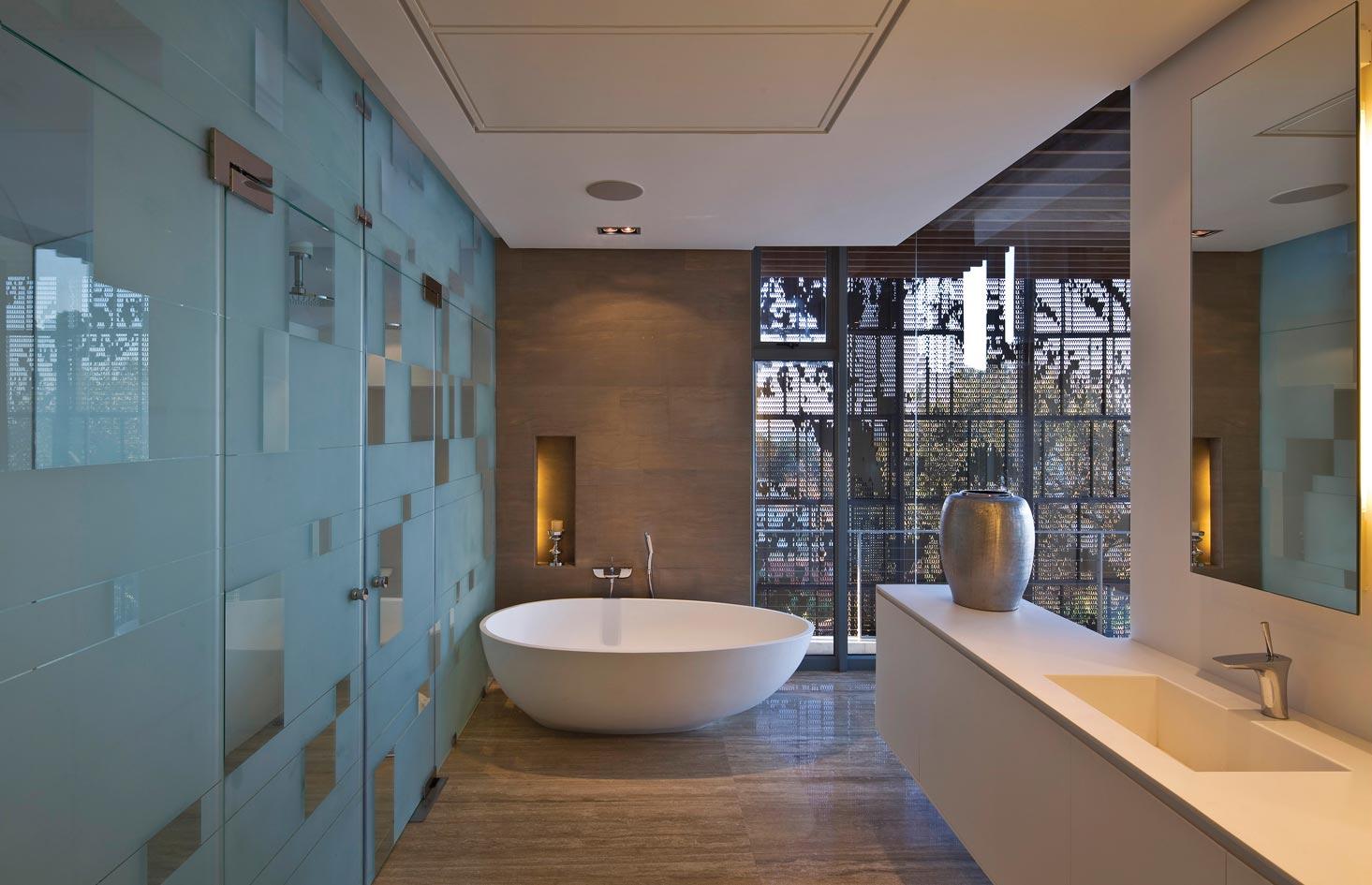 Modern bathrooms south africa - Modern Bathroom Interior Design Wallpapers