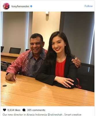 Biodata Lengkap Raline Shah Aktris Dan Komisaris Baru Air Asia