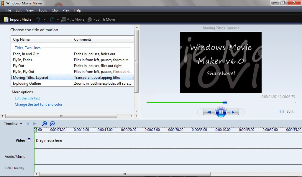 aplikasi windows movie makers