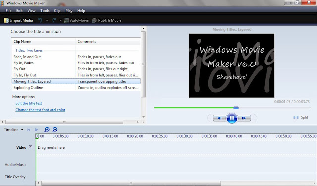 Download Windows Movie Maker untuk windows 7
