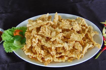 Resep Jamur CrispyTahan Lama Enak dan Sederhana