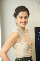 Taapsee Pannu in transparent top at Anando hma theatrical trailer launch ~  Exclusive 034.JPG