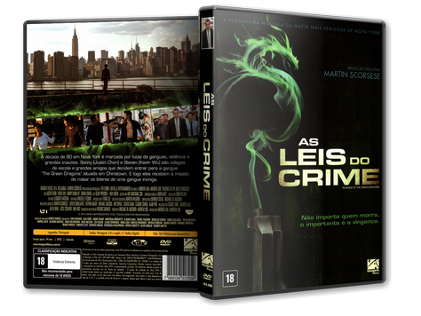 Capa DVD As Leis do Crime (Oficial)