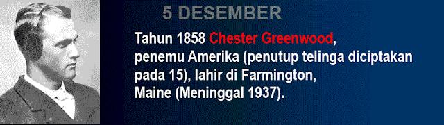 Hari Kelahiran Chester Greenwood