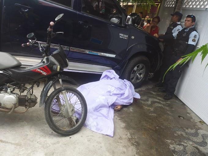 EM SOBRAL-CE: EX MOTOTAXISTA EXECUTADO COM TIROS DE PISTOLA NA CABEÇA NA PORTA DE SUA CASA