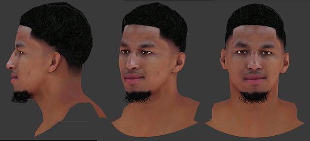 NBA 2K18 Andre Roberson Cyberface