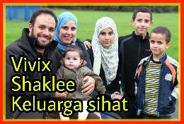 Keluarga sihat makan vivix