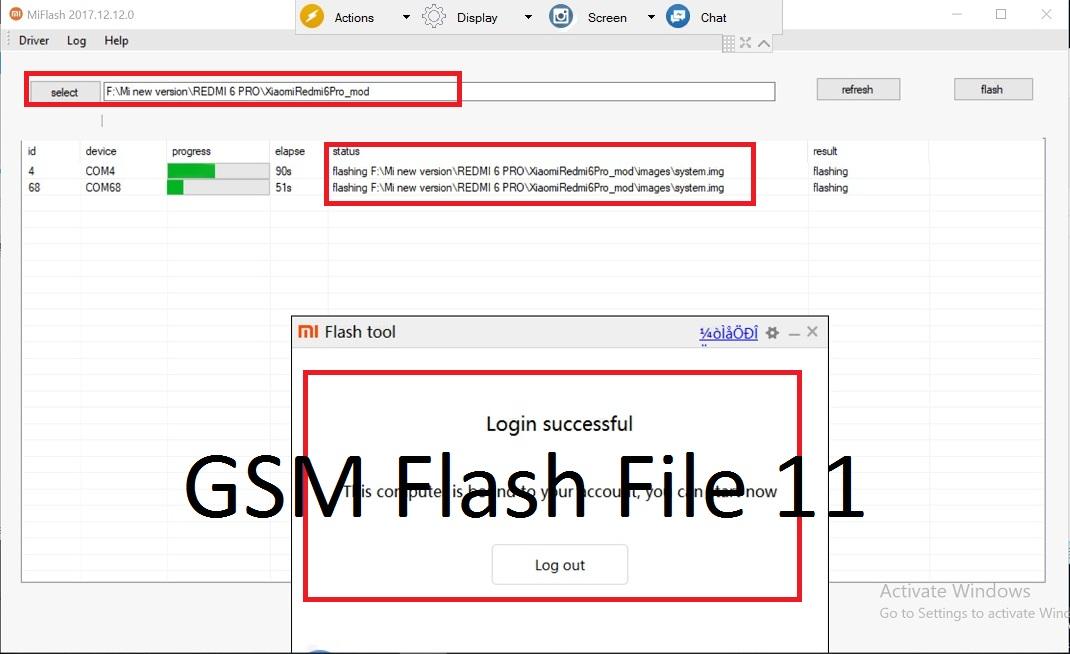 Xiaomi Redmi 6 Pro Mi Account Remove File For Bypass Mi