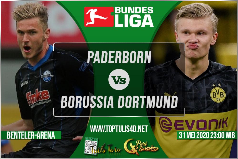 Prediksi Paderborn vs Borussia Dortmund 31 Mei 2020