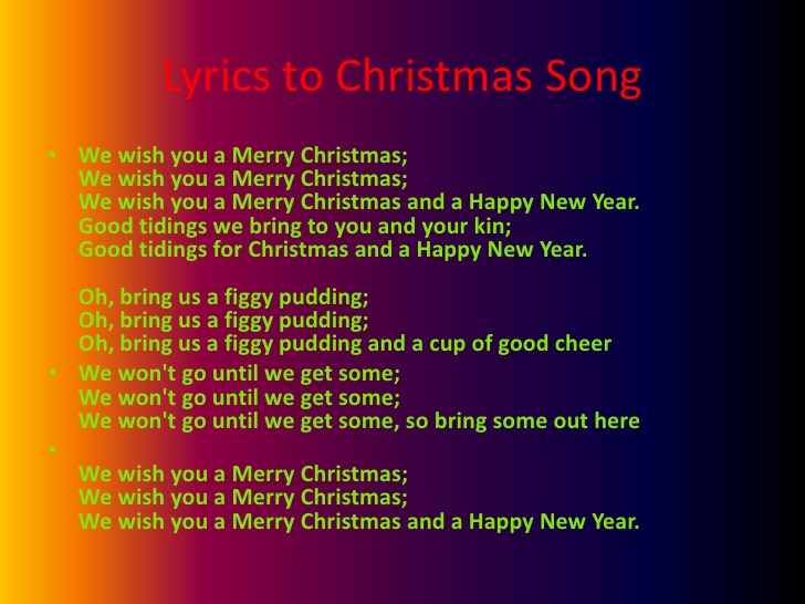 Christmas And A Happy New Year Song Lyrics