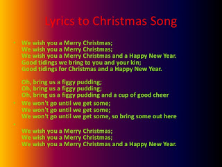 Merry Christmas And A Happy New Year Song Lyrics