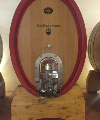 trambusti wine barrel