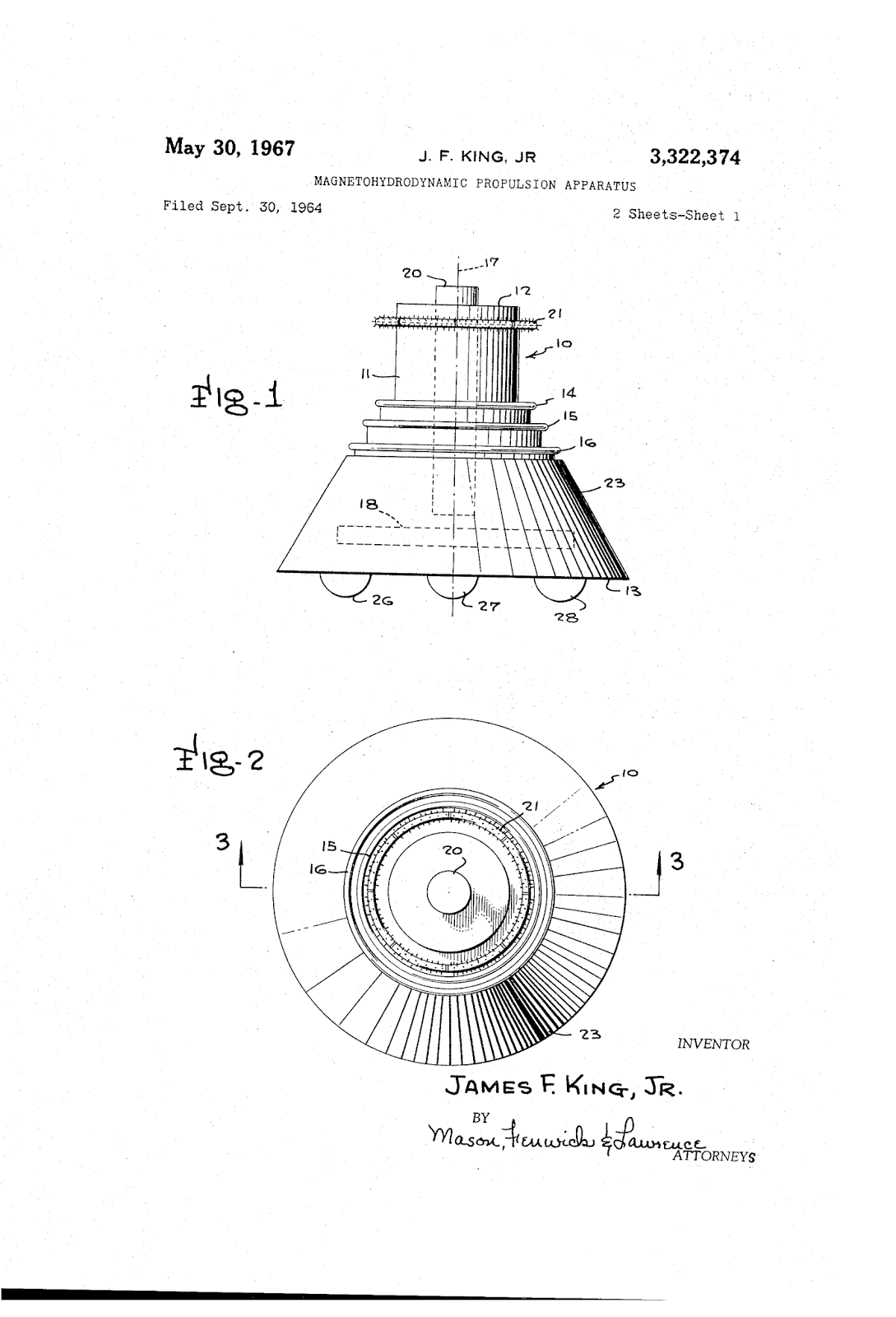 Hyperborean Vibrations American Ufo Patent Designs