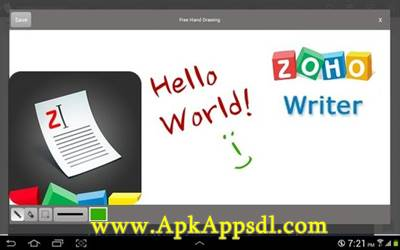 Download Zoho Writer Apk v2.0.5 Latest Version