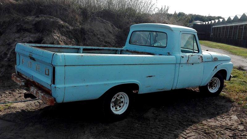 rodcitygarage 1964 ford f100 pickup truck. Black Bedroom Furniture Sets. Home Design Ideas