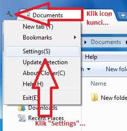 Clover – Menambahkan Tab Pada Windows Explorer