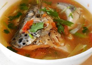 Resep Cara Membuat  Sup Ikan Salmaon Yang Untuk Anak