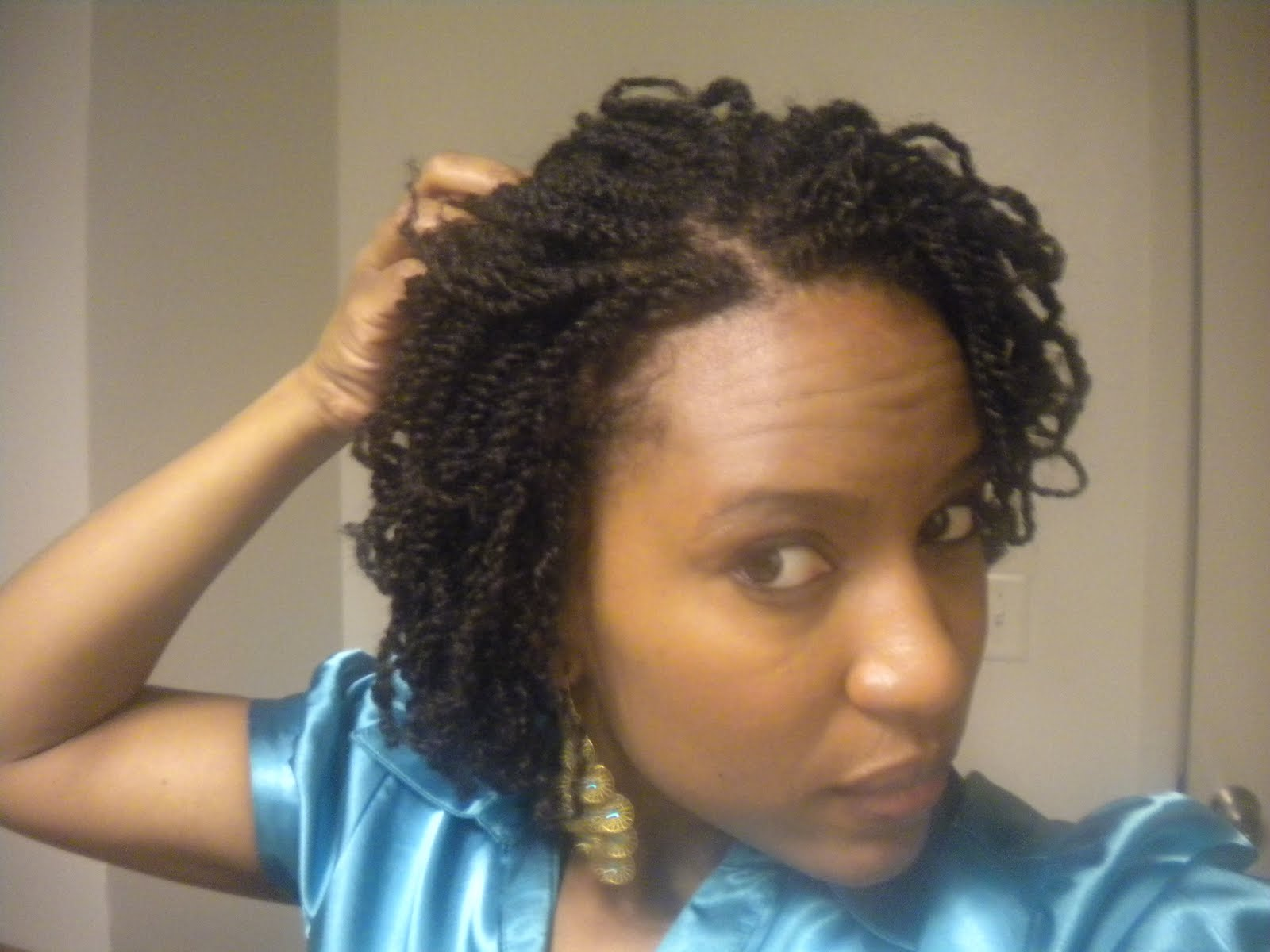 Pictures Of Two Strand Twist Hair Styles: HEALTHY HAPPY HAIR: Tiny 2 Strand Twists & 2 Month Challenge