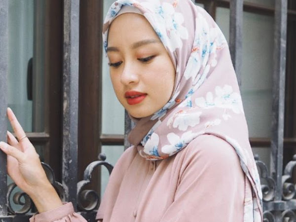 Ini Lho Tutorial Hijab Segi Empat Pesta yang Paling Kece, Simpel namun Trendi!