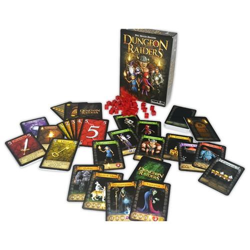 Imagen de las cartas del dungeon raiders