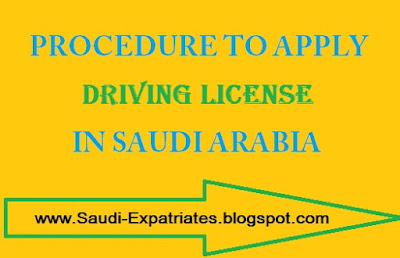 DRIVING LICENSE SAUDI ARABIA