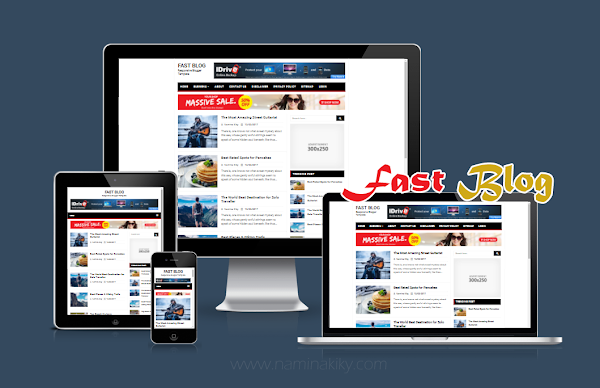 Download Template Fast Blog Responsive