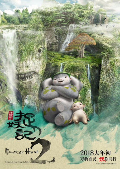 Monster Hunt 2  (2018) Dual Audio HDRip 480p ESub x264