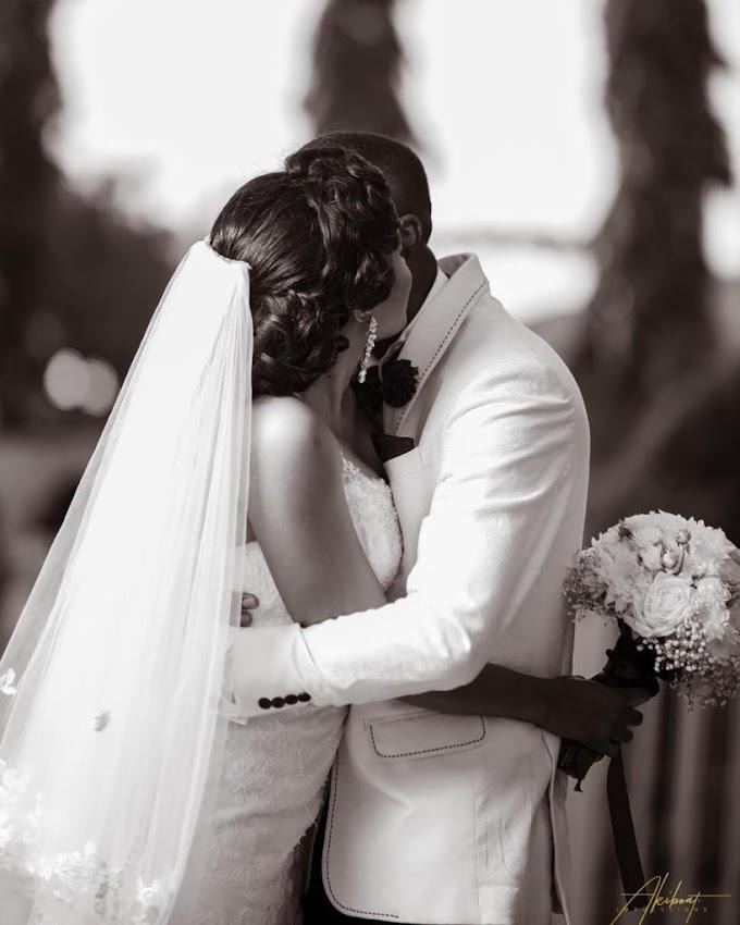 Photos from wedding of TV presenter Chantelle Asante &  Rev. Kevin Adu