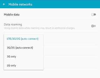 Upgrade Samsung Agar Mendapat Signal 4G