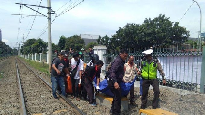 Terobos Perlintasan Kereta Di Pasar Minggu, Dua Anggota TNI AL Meninggal Dunia