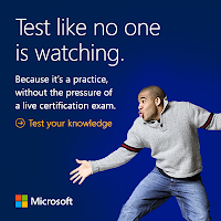 Microsoft practice exam