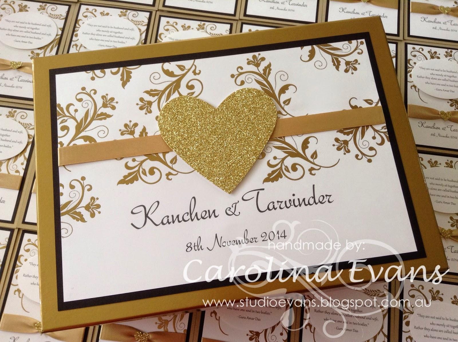 Stampin Up Wedding Invitations