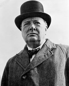 Fotografía de Winston Churchill