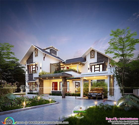 2682 square feet 4 bedroom stunning home design