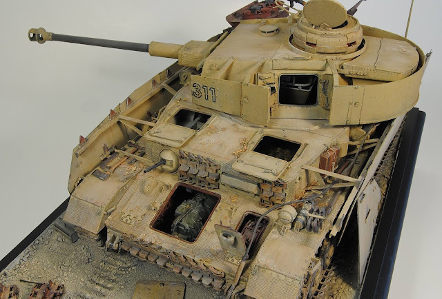 Trumpeter 1/16 scale Panzer IV Pzkpfw IV model tank