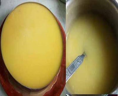 كيك الليمون بكريمة ديبلومات ذوق روعة