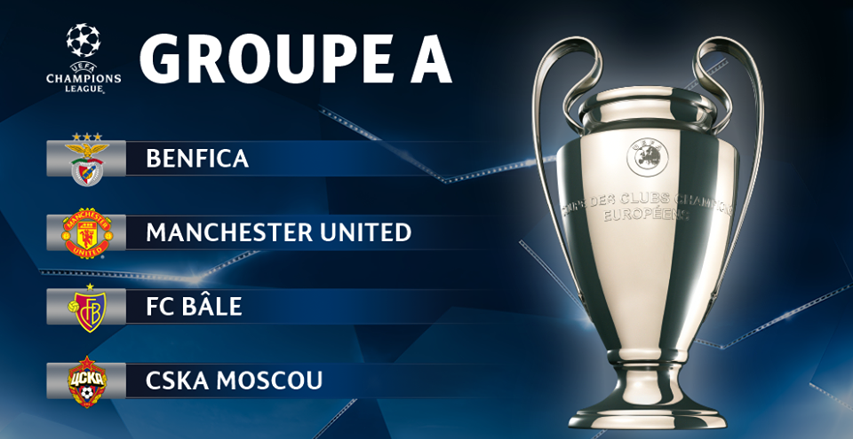 Pronostic Ligue des Champions - Groupe A
