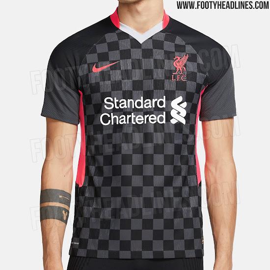 Vazam Imagens Da Nova Terceira Camisa Do Liverpool