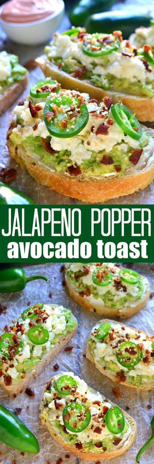 JALAPENO POPPER AVOCADO TOAST
