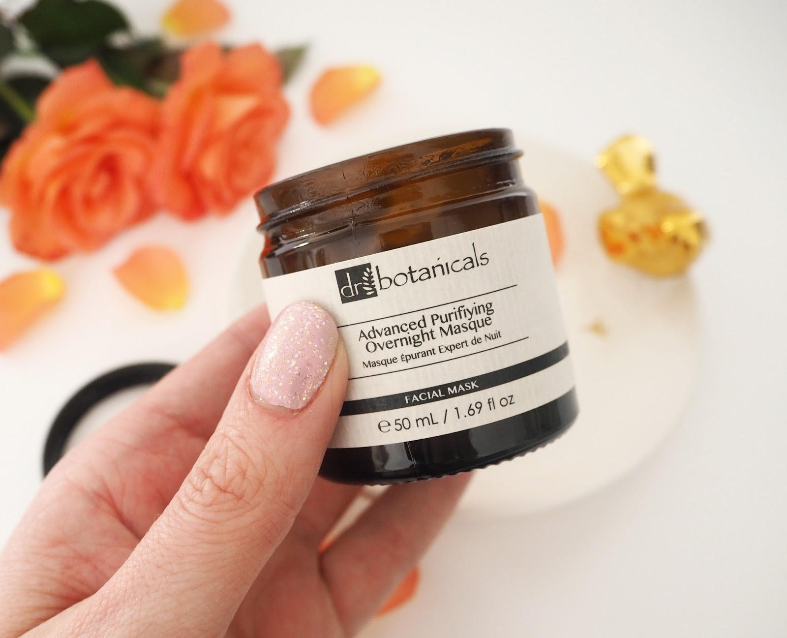 Dr Botanicals Advanced Purifying Overnight Masque, Katie Kirk Loves, Beauty Blogger, Dr Botanicals Skincare, UK Blogger, Skincare Review, Discount Code, National Bed Month, Beauty Sleep, Night Cream, Skincare Routine, Luxury Skincare Products