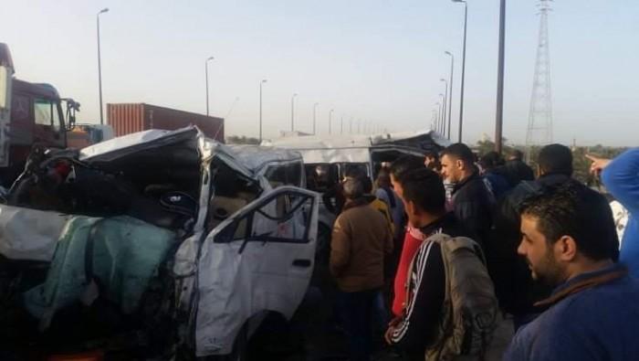ارتفاع عدد ضحايا حادث الطريق الساحلي بالبحيرة