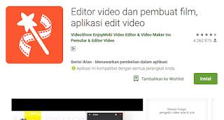 Video Show Editor Video dan Pembuatan Film
