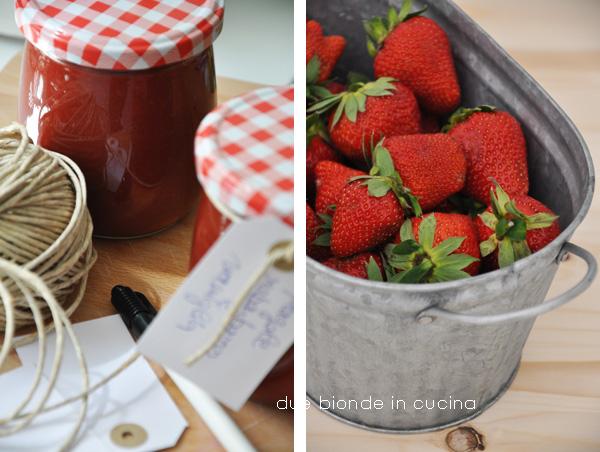 Due bionde in cucina confettura di fragole rabarbaro e for Ricette culinarie