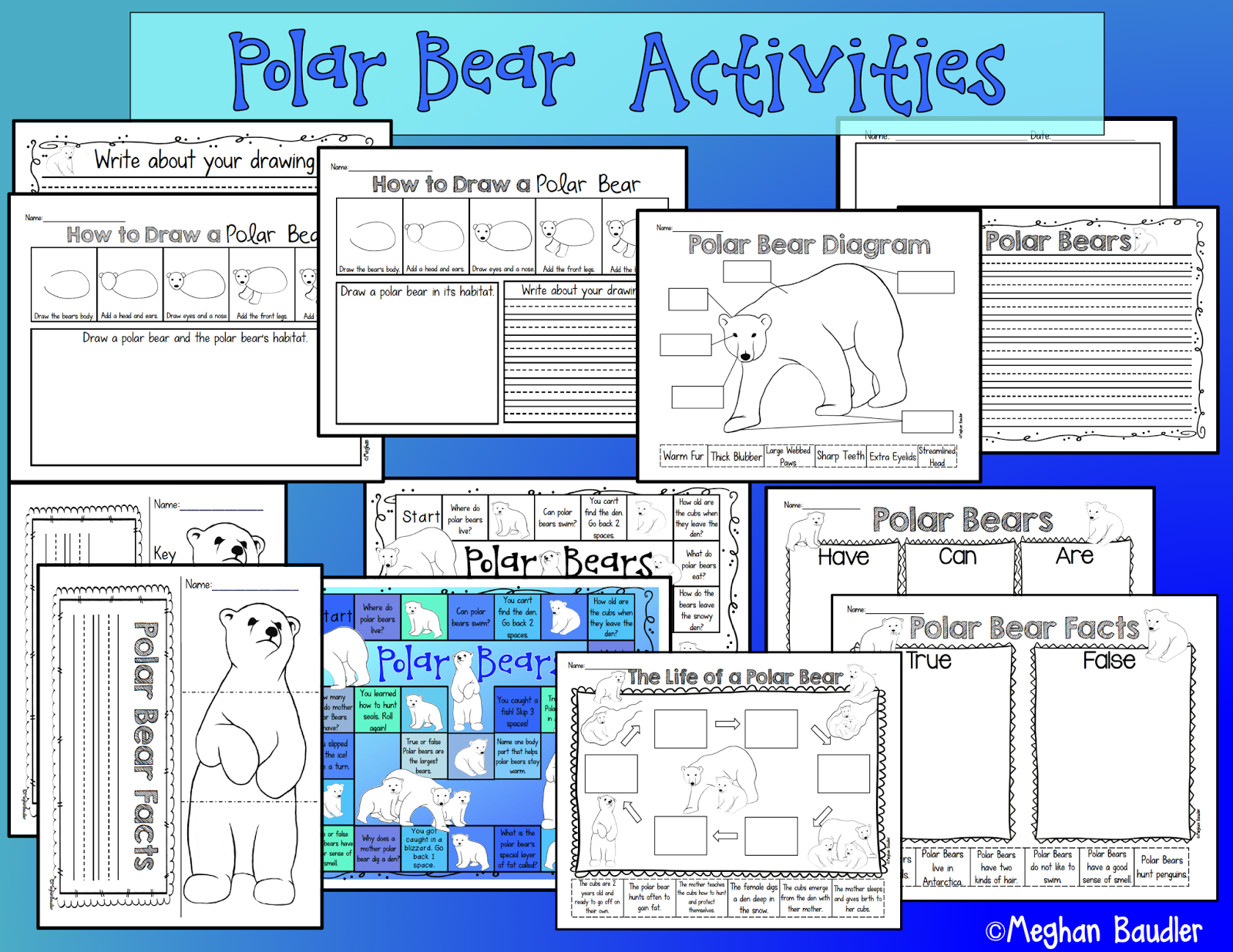 Polar Bear Diagram Typical Plant And Animal Cells The Creative Colorful Classroom January 2015